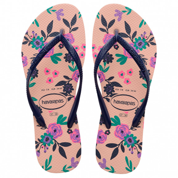 Havaianas Slim Romance (33-40) - Rosa Ballet 0076